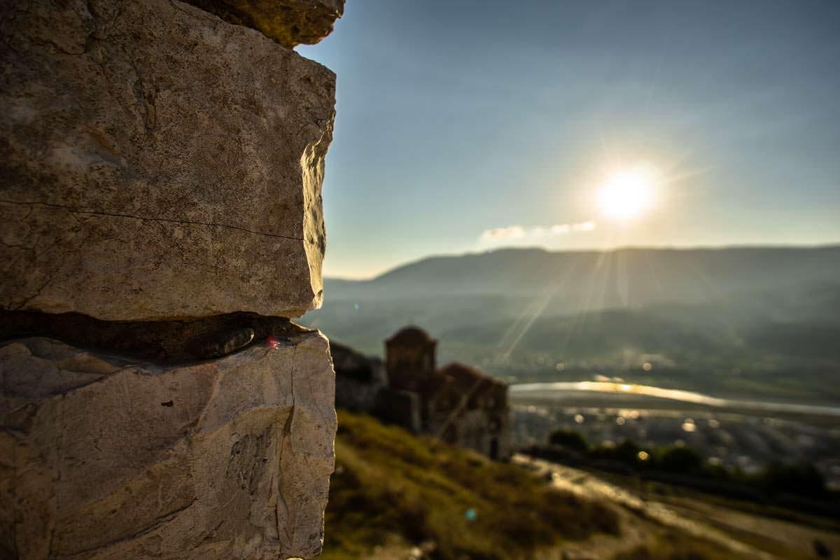 Festungsmauer von Berat