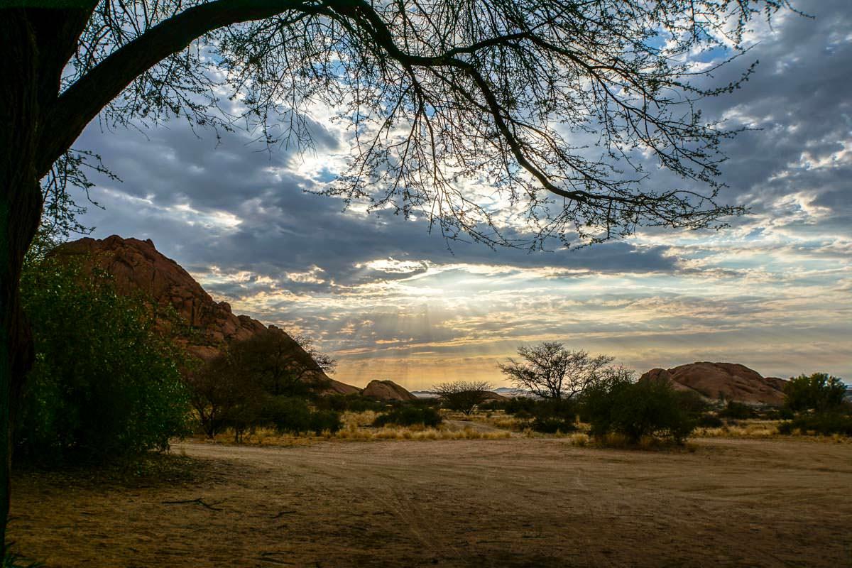 Spitzkoppe am Morgen (Namibia)