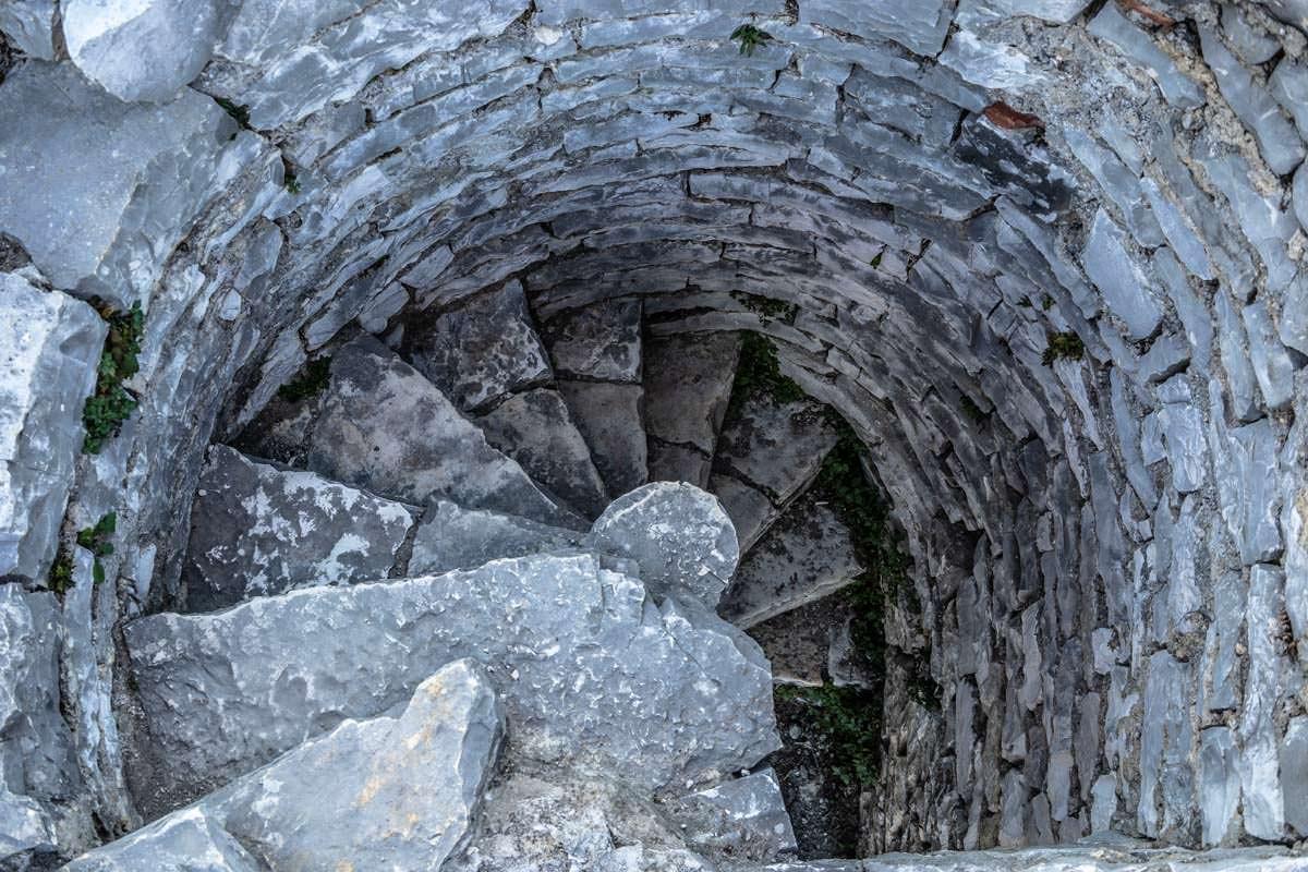 Minarett der Weißen Moschee von Berat