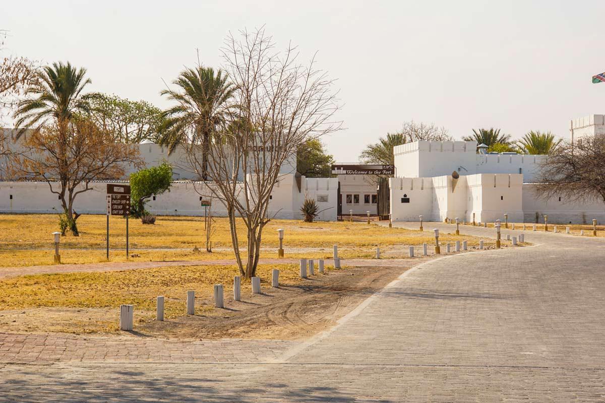 Fort Namutoni im Etosha NP