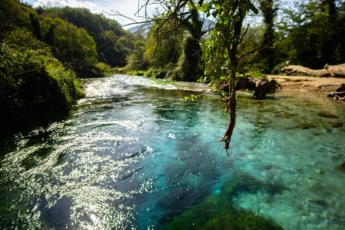 Das Blaue Auge von Albanien