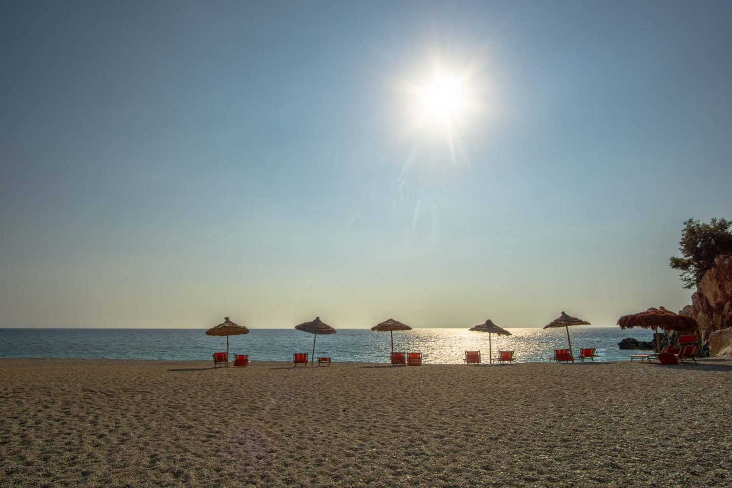 Urlaub in Albanien: Gjipe Beach
