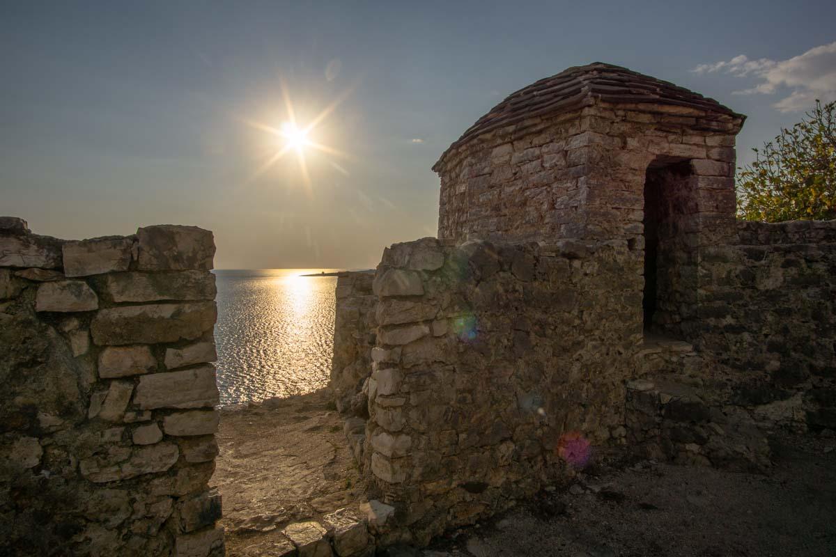 Porto Palermo Festung in Albanien