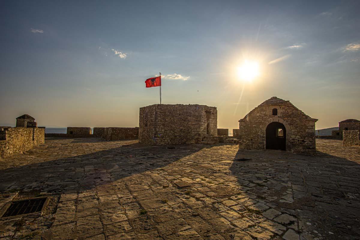 Festung von Porto Palermo (Urlaub in Albanien)