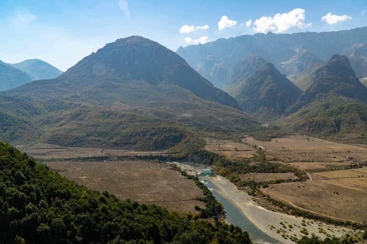 Viosa Gebirge bei Permet (Albanien)