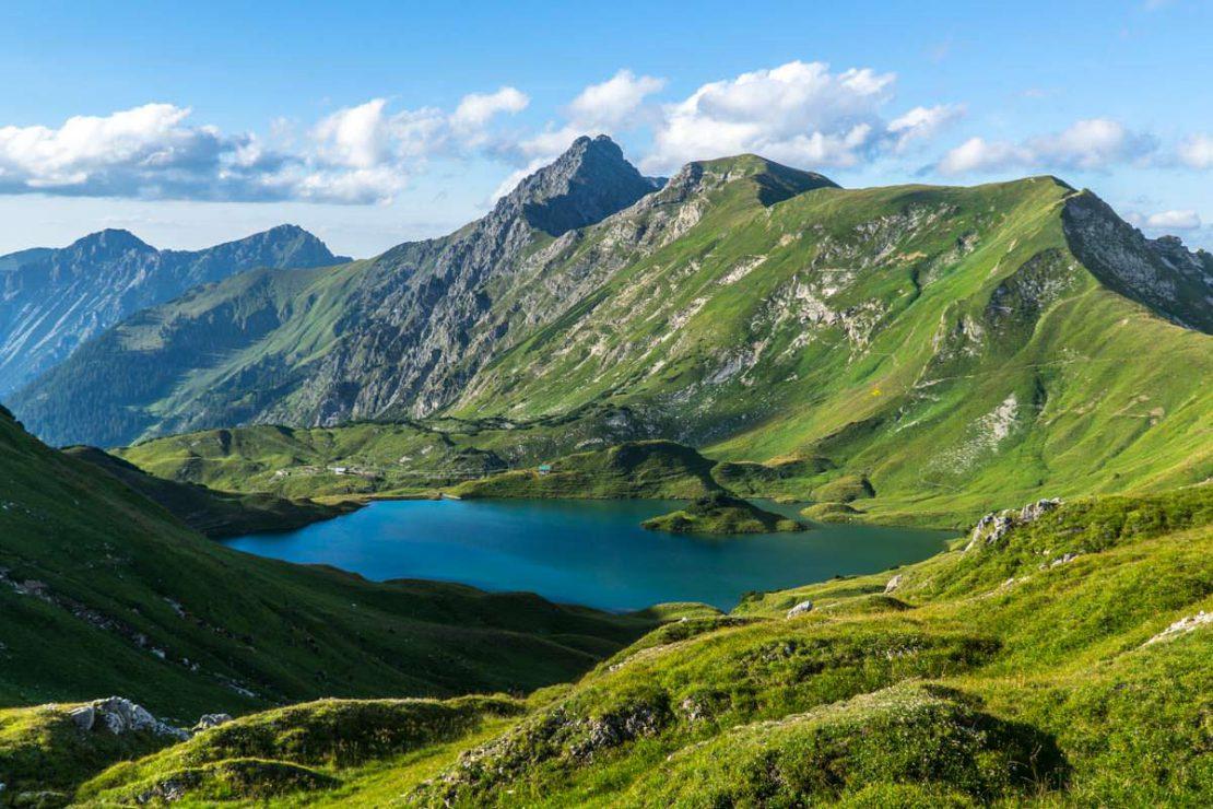 Der Schrecksee gilt als der schönste Bergsee im Allgäu