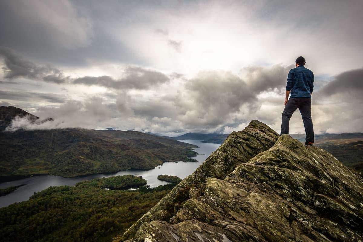 Ben Aan ist ein beliebter Fotospot in Schottland