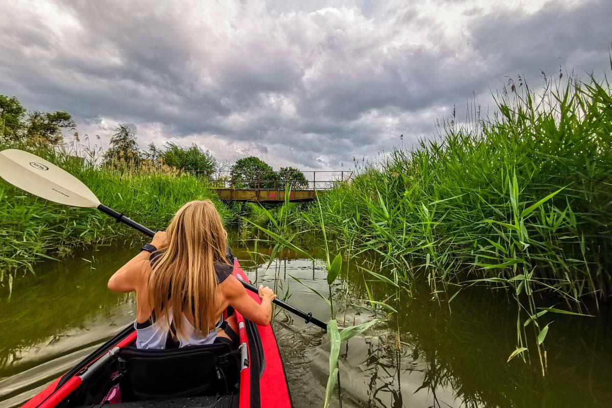 Mit dem Kanu auf der Oberen Havel