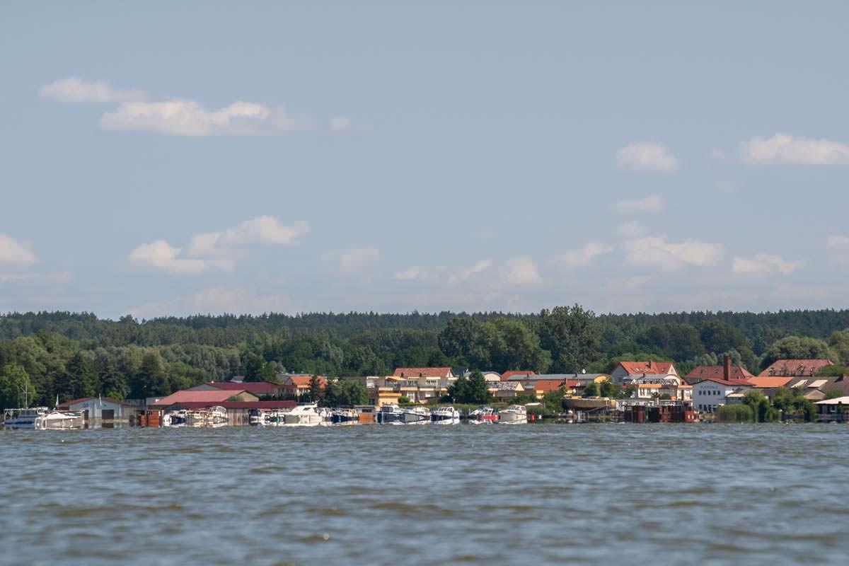 Neustrelitz vom Zierker See