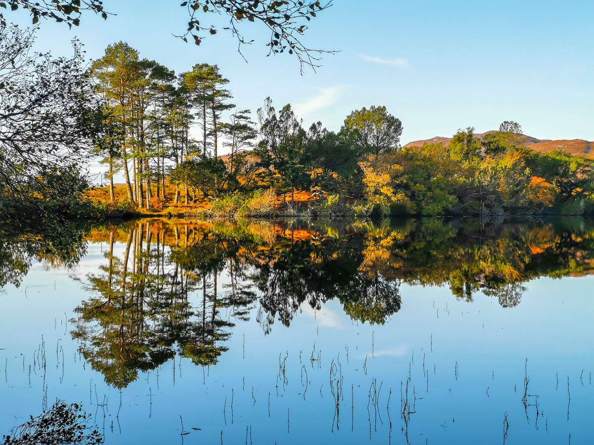 Loch Cul Dromannan in Schottland