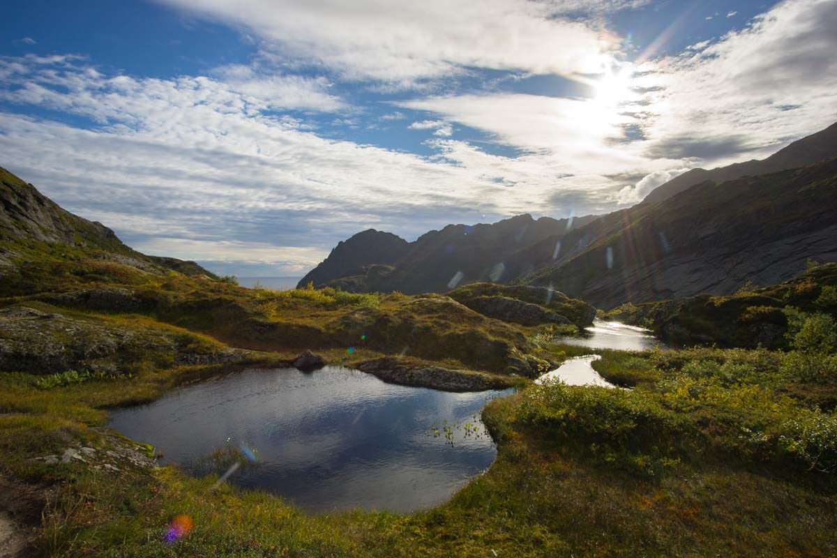 Vom Meer bis in die Berge - die Wanderung zur Munkebu Hut