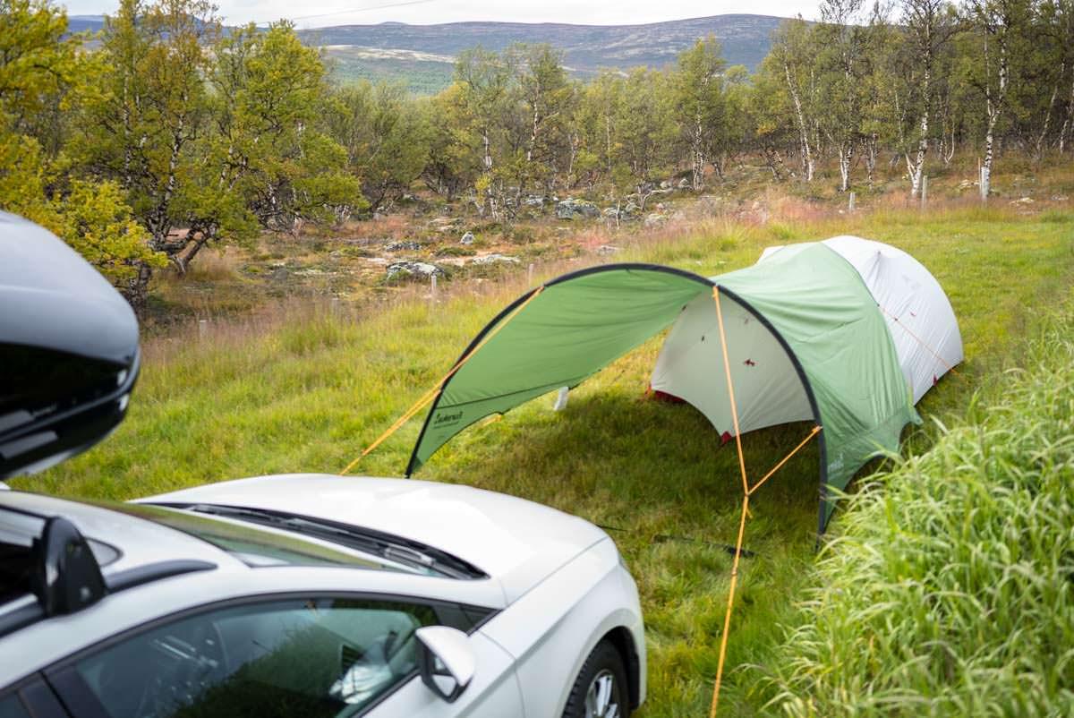 Camping Furuhaugli beim Dovrefjell in Norwegen