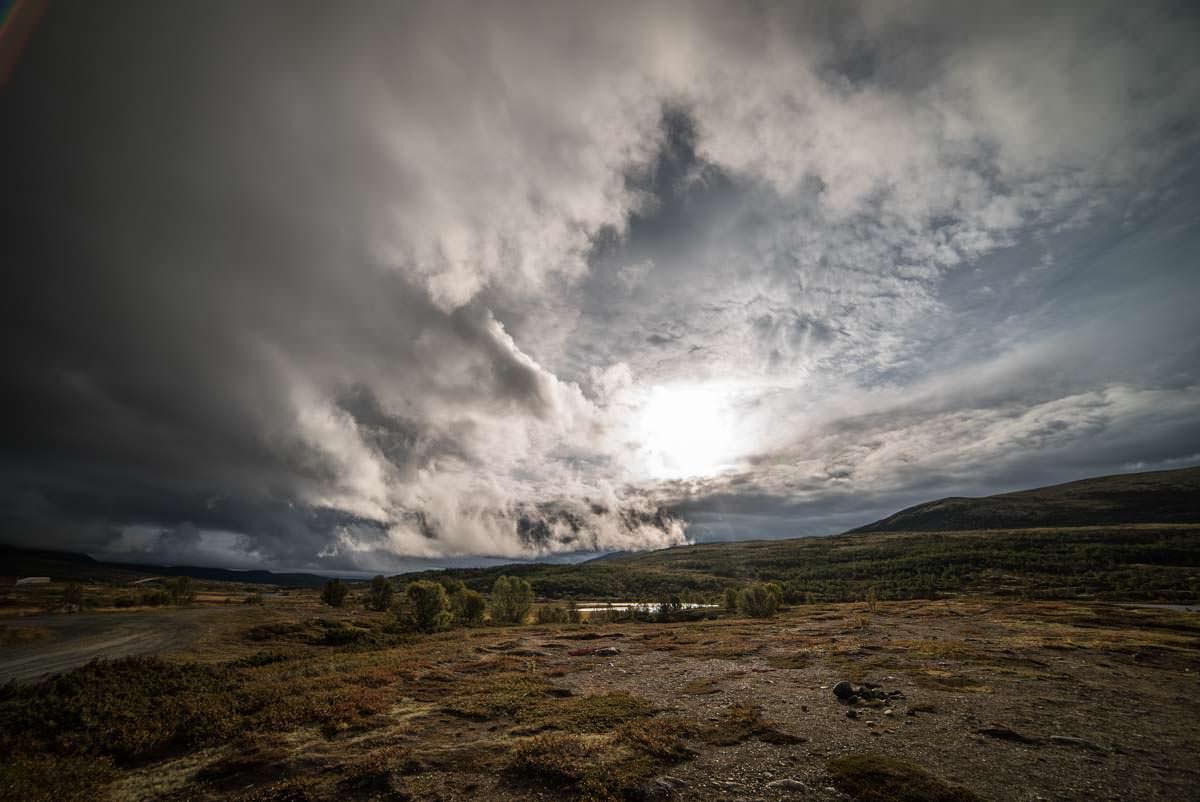 Die karge Landschaft im Dovrefjell Nationalpark