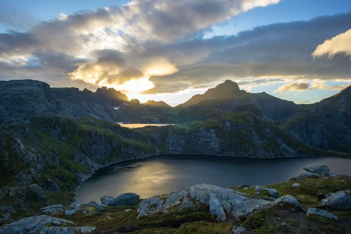 Tennesvatnet auf den Lofoten