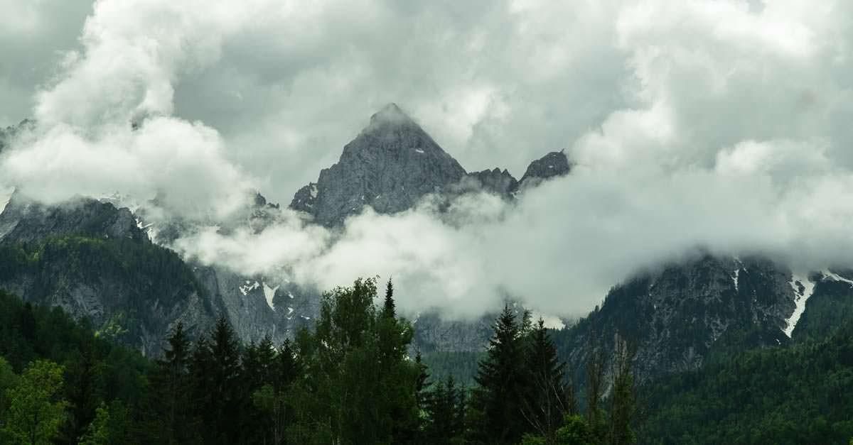 Der Triglav ist der höchste Berg von Slowenien