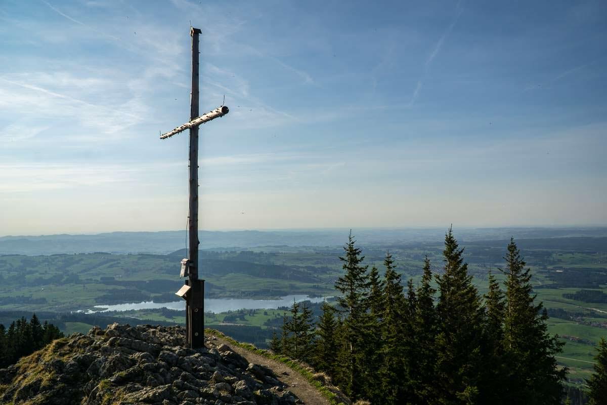 Auf dem Gipfel vom Alpspitz