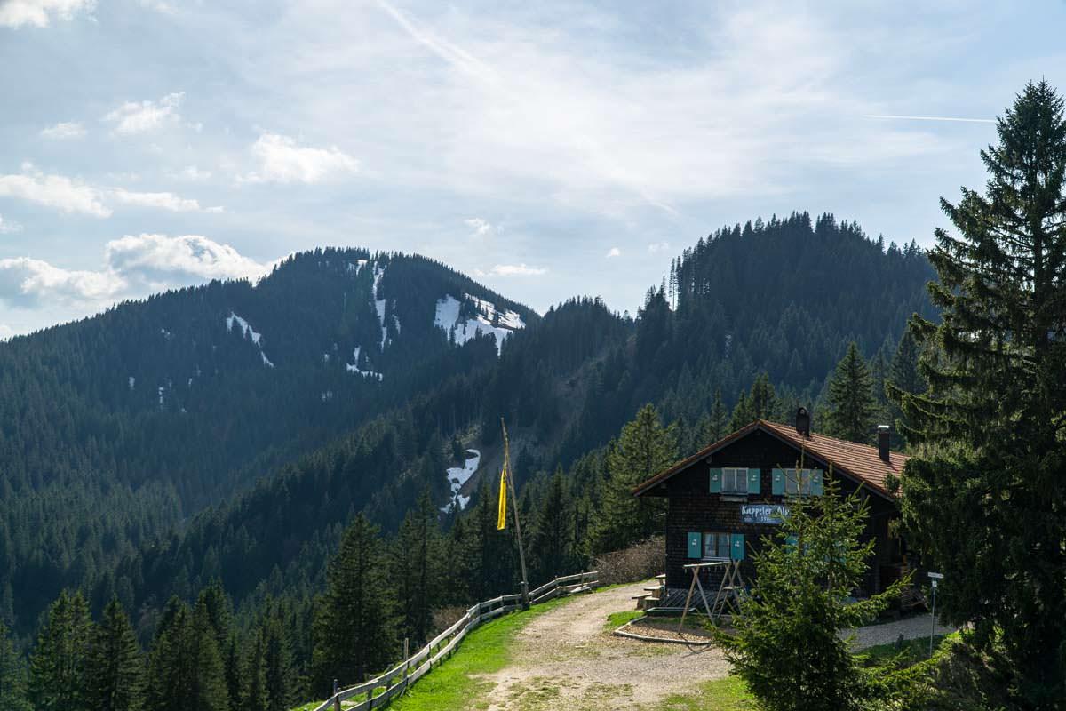 Die Kappeler Alp ist auf Wanderungen ein beliebtes Ziel zum Einkehren