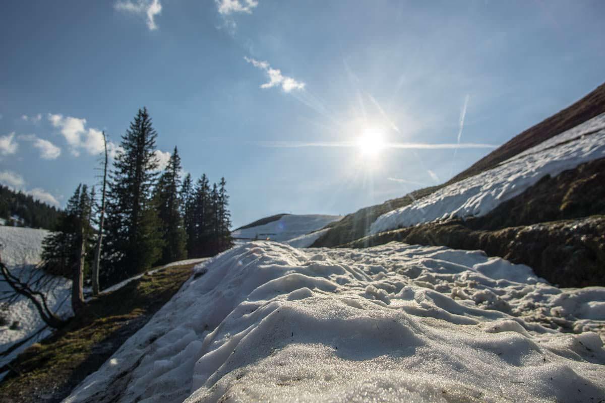 Wanderweg zum Alpspitz