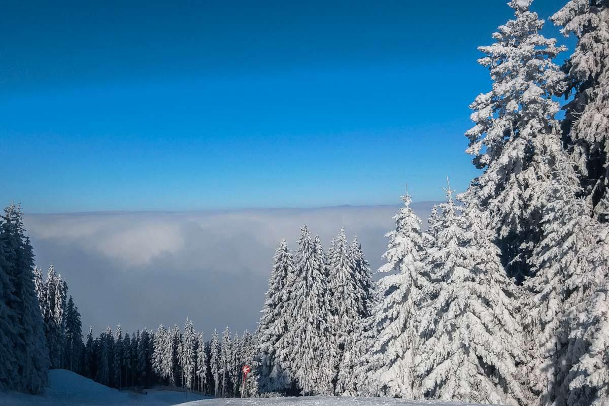 Skigebiet Alpspitz bei Nesselwang