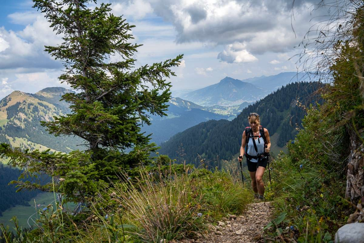 Wanderung vom Gunzesrieder Tal auf den Siplinger Kopf