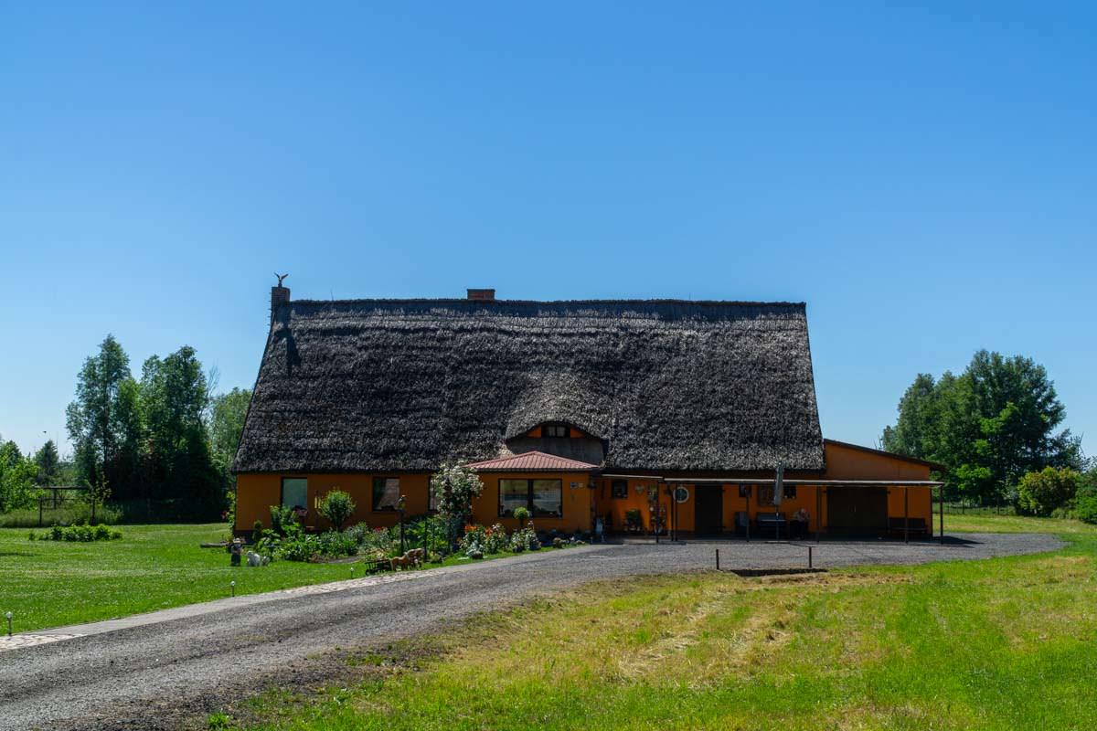 Reetdachhaus in Bugewitz (Mecklenburg Vorpommern)