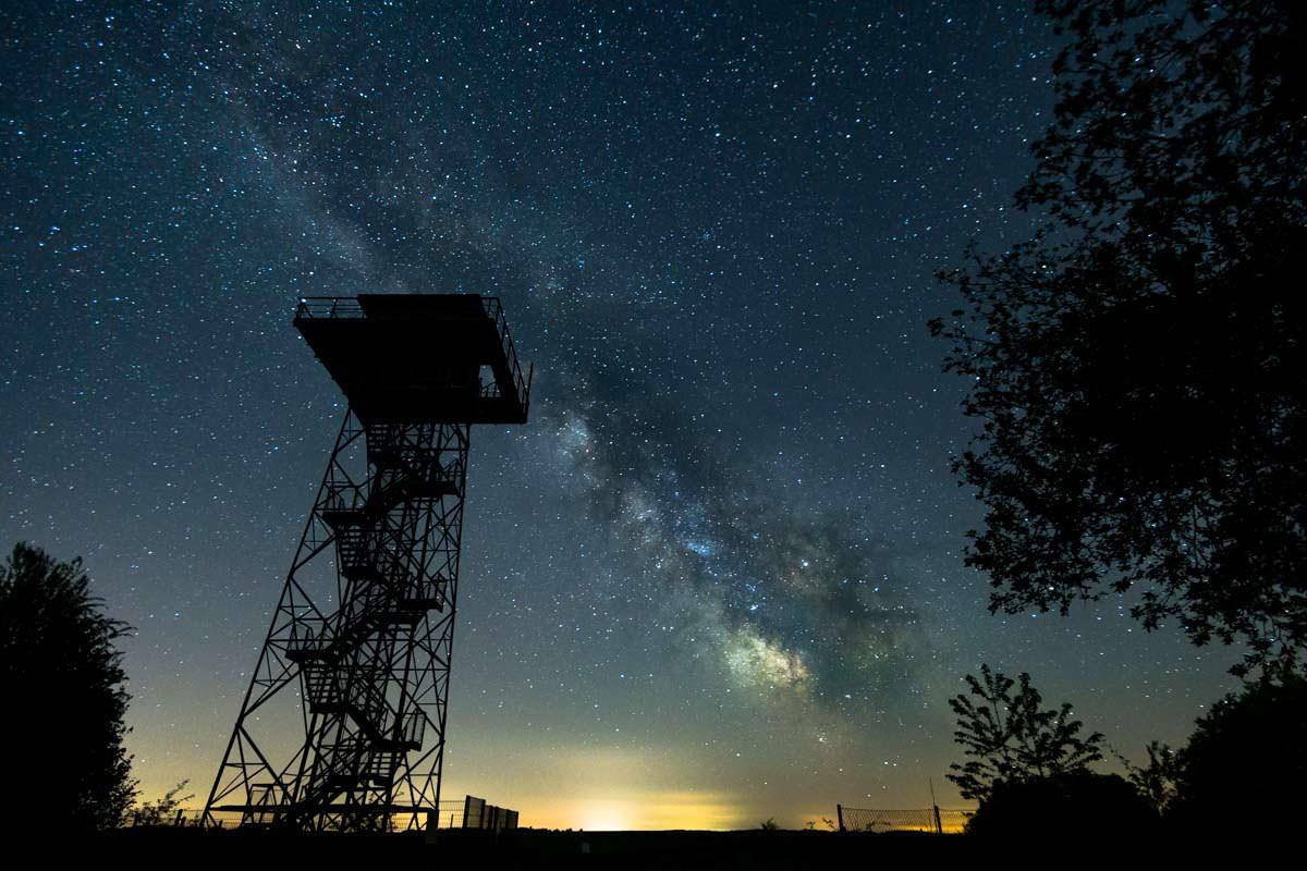 """Wie man die Milchstraße fotografiert, erfahrt ihr im BUch """"Landschaftsfotografie - Die große Fotoschule"""""""