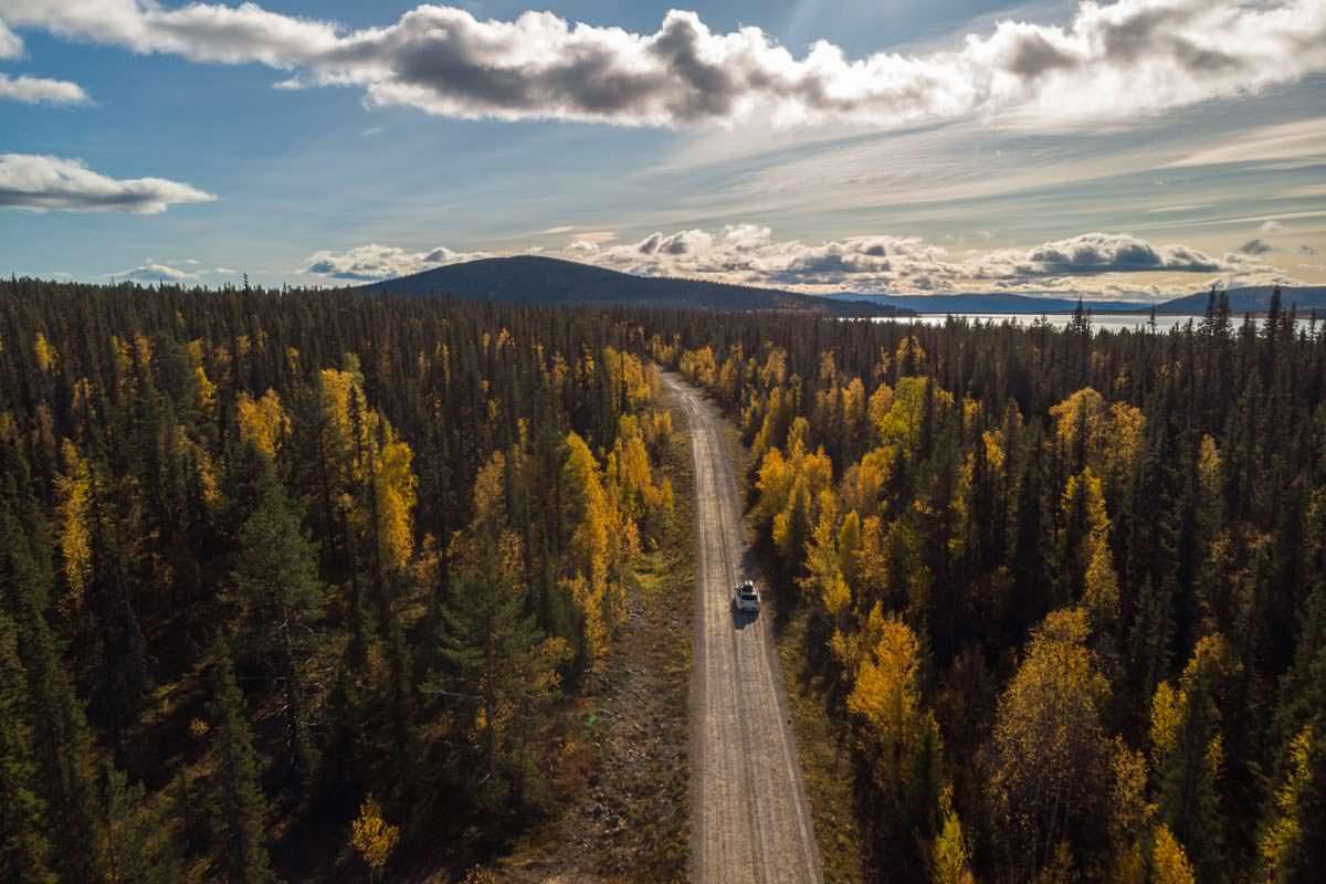 Roadtrip mit Zelt durch Schwedisch-Lappland