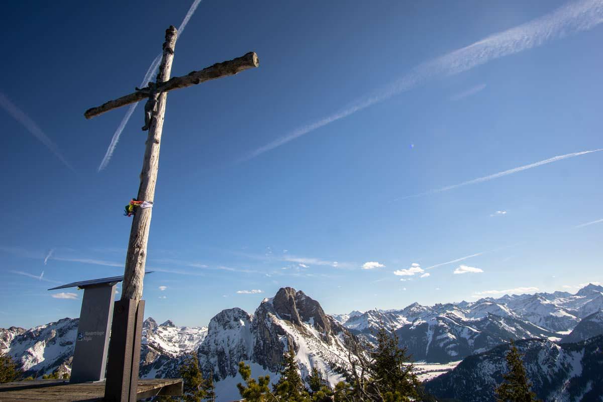 Gipfelkreuz am Breitenberg