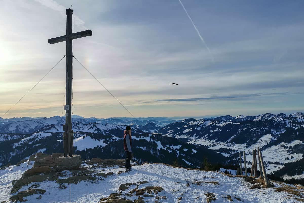 Gipfel vom Riedberger Horn