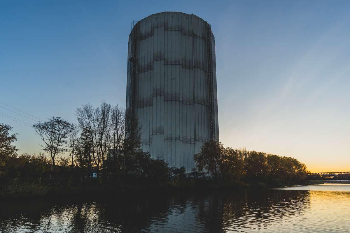 Der Gasometer ist eine der Fotolocations in Oberhausen