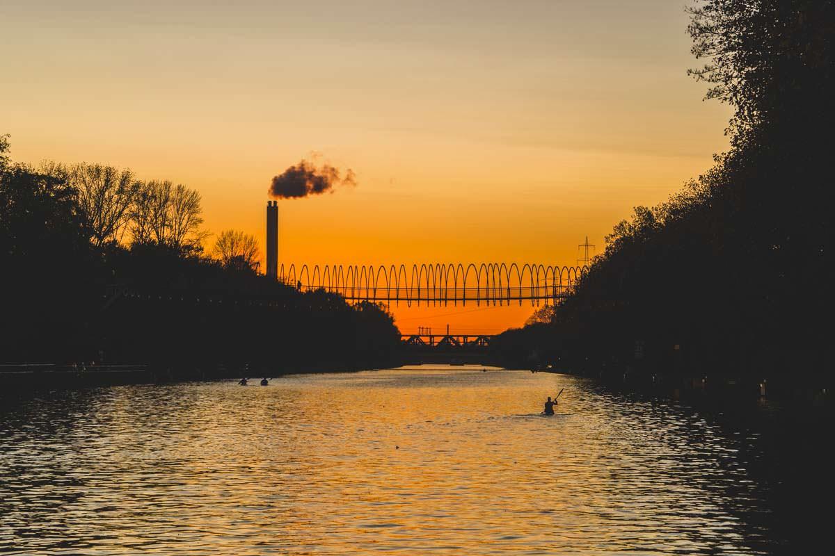 Ein Spaziergang am Rhein-Herne-Kanal