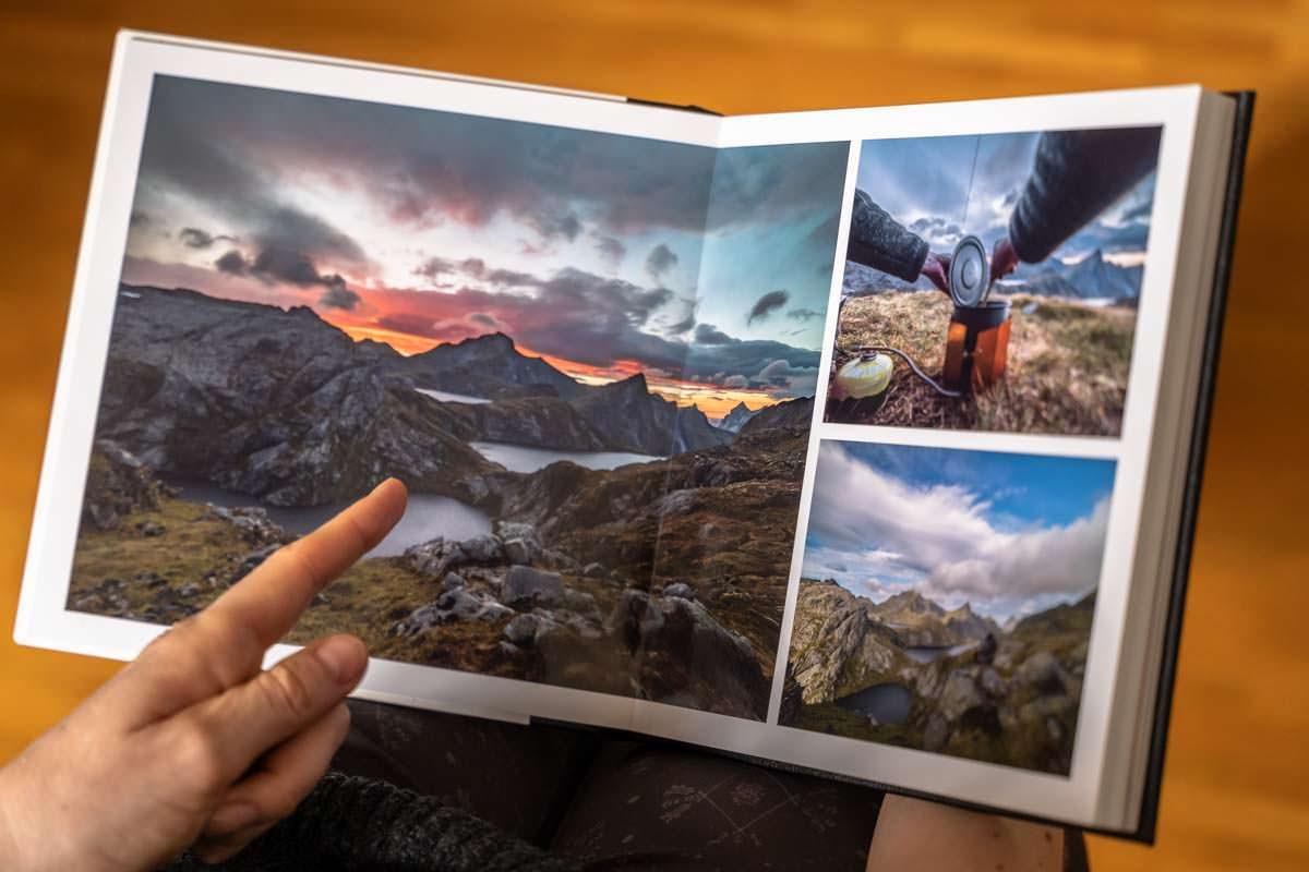 Unser Fotobuch Professional Line von Saal Digital